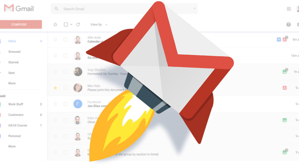 Gmail, אתה יכול להיות טוב יותר. אתה צריך להיות טוב יותר!
